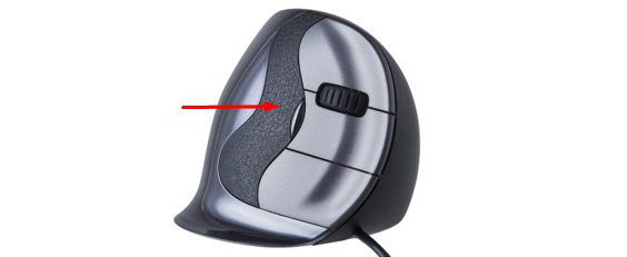 18 Years of Experience and Research Leads to the Latest Vertical Mouse red