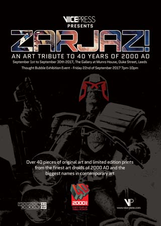 2000 Ad exhibition leeds poster