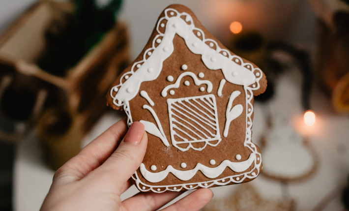 2019 Christmas Party Ideas gingerbread