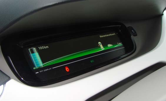 3 key benefits of owning an electric car dashboard