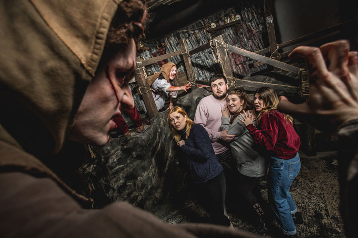 48 hours in edinburgh travel review dungeon