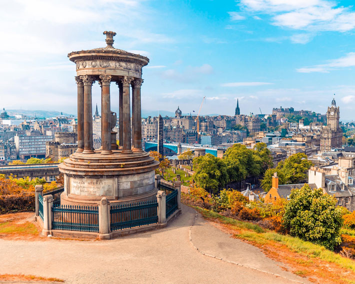 48 hours in edinburgh travel review view
