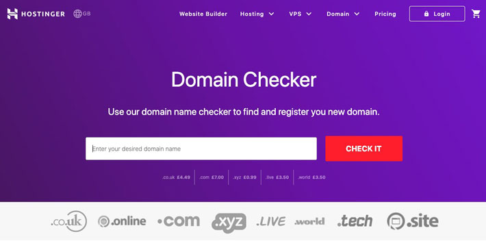7 Tools For Domain Name Research and Registration in the UK hostinger