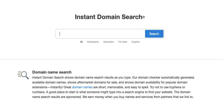 7 Tools For Domain Name Research and Registration in the UK instant domain search