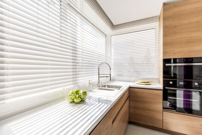 8 Different Styles Of Blinds And How To Match Them To The Style Of Your Home kitchen