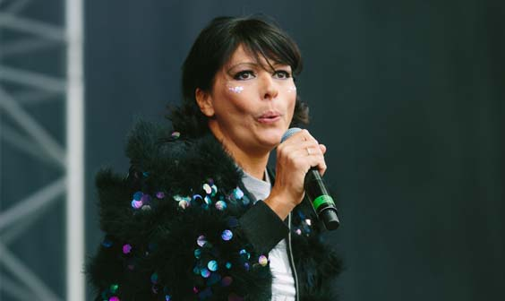 80s vs 90s live review scarborough open air theatre oat Betty Boo