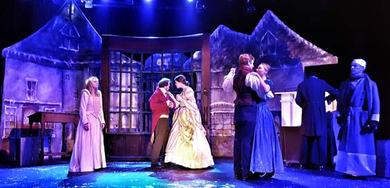 A Christmas Carol review bridlington spa november 2017 theatre