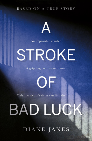 A Stroke of Bad Luck Diane Janes Book Review cover