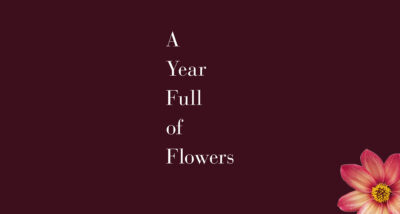 A Year Full of Flowers Sarah Raven book review logo