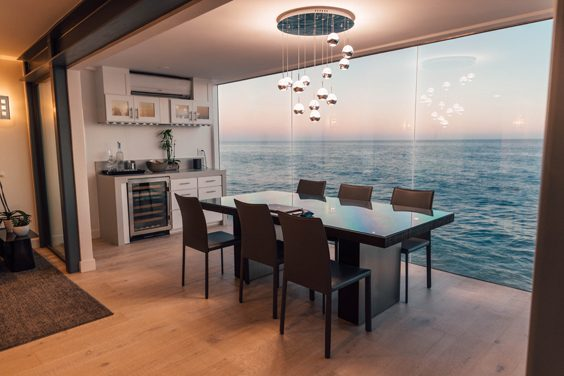 A good space inside the house needs a good interior design dining