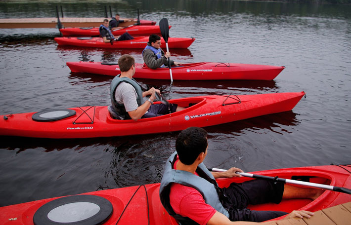 Adventure Activities for Business Work Outings kayak