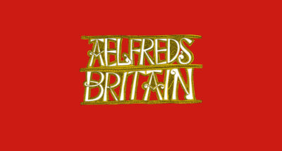 Aelfred's Britain Max Adams book Review main logo
