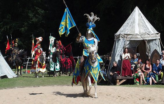 Alternative Ways to Spend Easter jousting