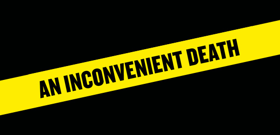 An Inconvenient Death Miles Goslett Book Review logo