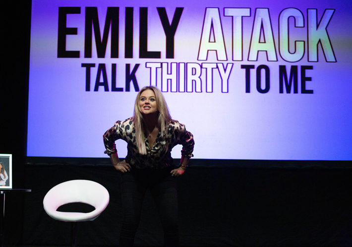 An Interview With Emily Atack stage