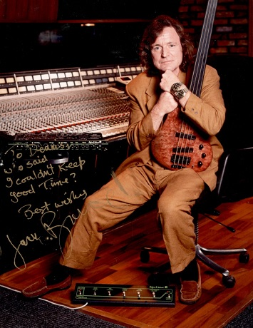 An Interview with Dennis Drumm of JHS jack bruce