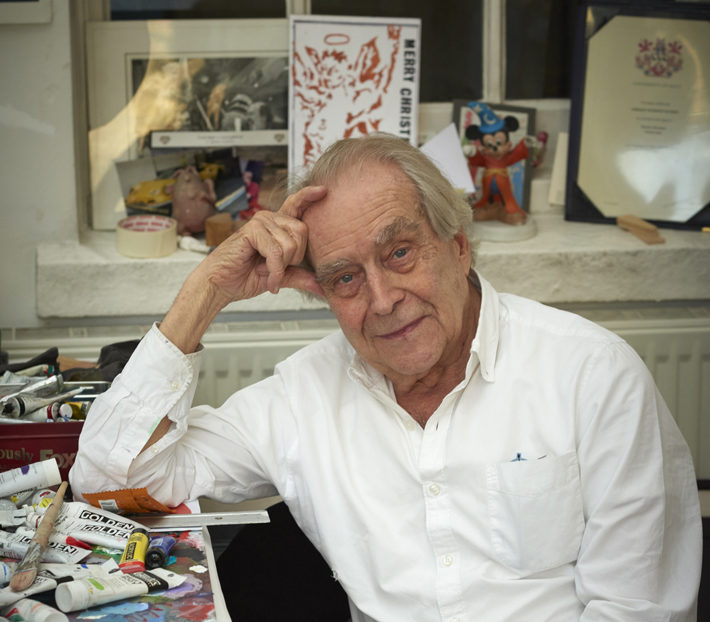 An Interview with Gerald Scarfe caricaturist