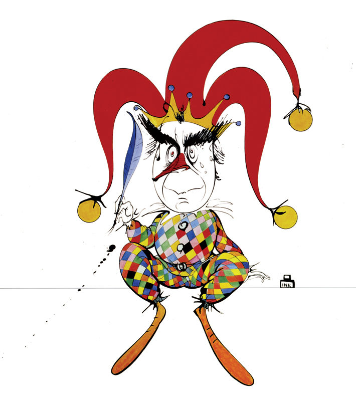 An Interview with Gerald Scarfe jester