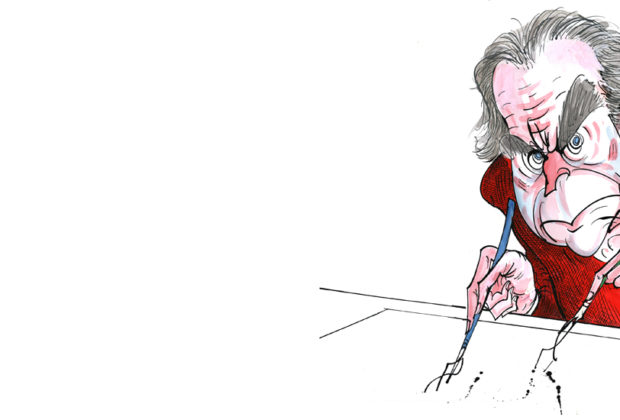An Interview with Gerald Scarfe main