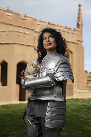 An Interview with Shappi Khorsandi knight