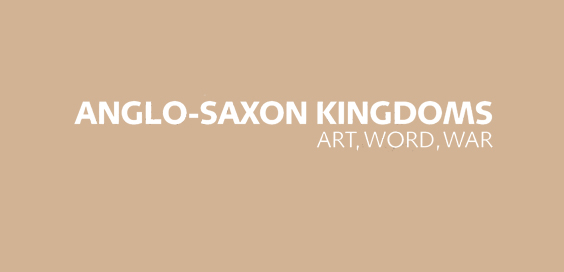 Anglo Saxon Kingdoms Art, Word and War by Claire Breay, Joanna Story book review logo