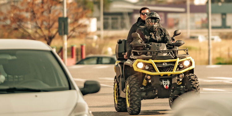 Are Quad Bikes Road Legal main