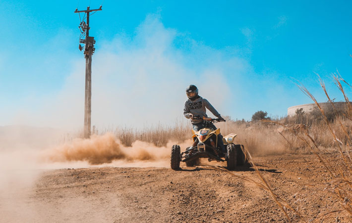 Are Quad Bikes Road Legal offroad