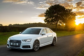 Audi A4 saloon review front