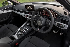 Audi A4 saloon review interior