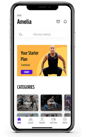 Auro Fitness App Review screen