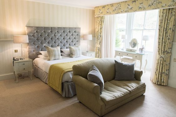 Balbirnie House Hotel Fife bedroom