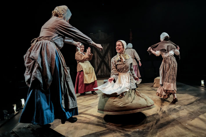 Ballad of Maria Marten Review Stephen Joseph Theatre Scarborough February 2020 cast
