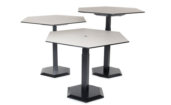 Benefits of a Sit-Stand Desk trio