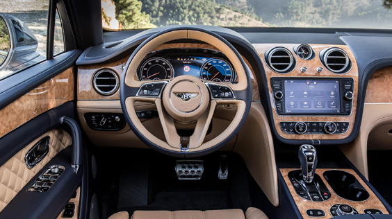 Bentley Bentayga W12 interior