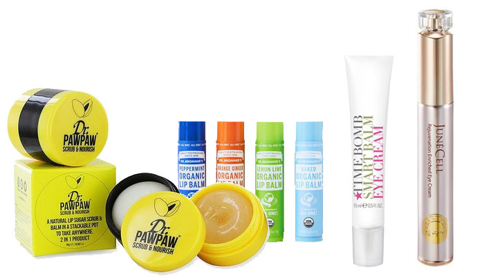 Best Skin Products for Body and Face 2020 lips eyes