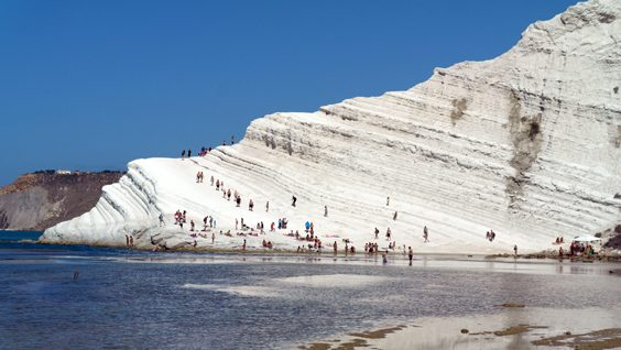 Best places in Sicily to relax and enjoy the seaside Scala dei Turchi