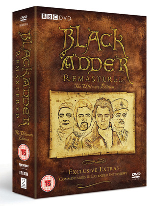 Blackadder Remastered The Ultimate Edition review cover