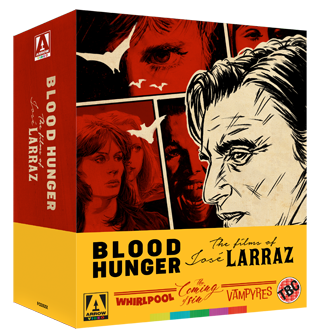 Blood Hunger The Films of Jose Larraz Boxset Review cover