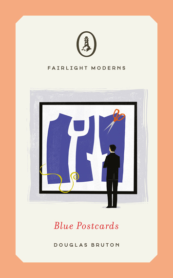 Blue Postcards by Douglas Bruton book Review cover