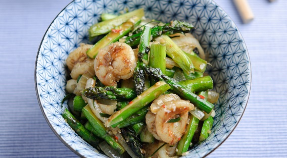king prawn stir fry