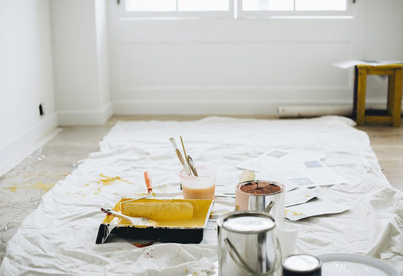 Checklist for when buying a house paint