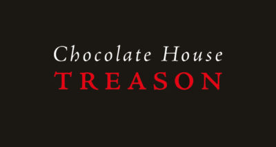 Chocolate House Treason David Fairer Book Review logo main