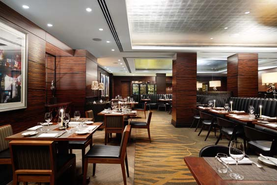 Conrad London St James Hotel Review Blue Boar Restaurant