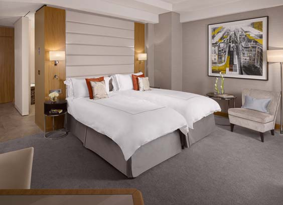 Conrad London St James Hotel Review TWIN EXECUTIVE ROOM