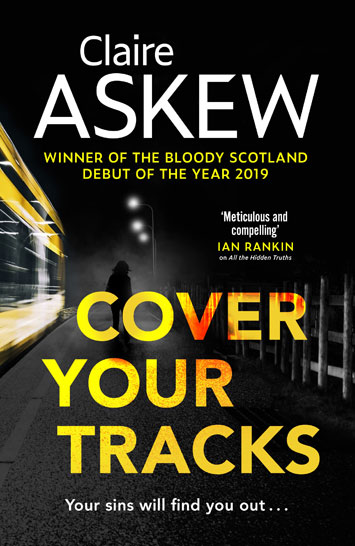 Cover Your Tracks by Claire Askew Book Review jacket