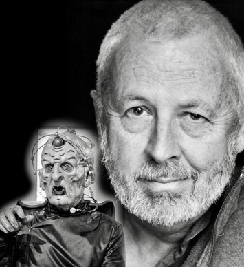 Davros Actor Terry Molly at Leeds Dr Who Event doctor