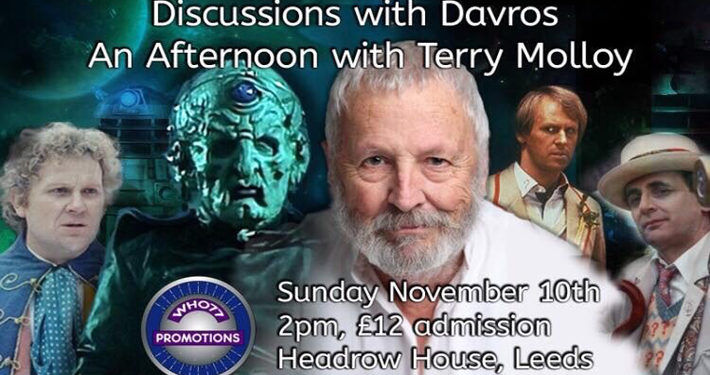 Davros Actor Terry Molly at Leeds Dr Who Event main