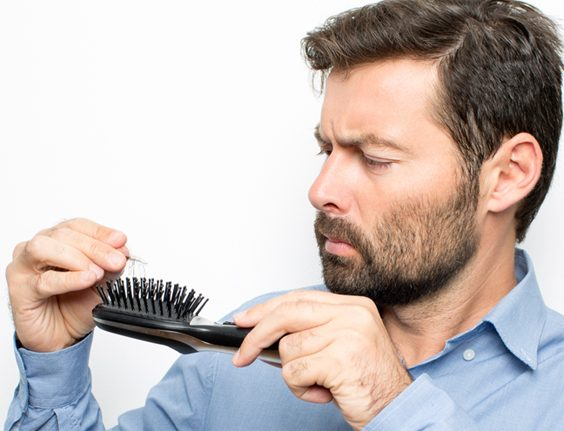 Dealing With Hair Loss In Men brush