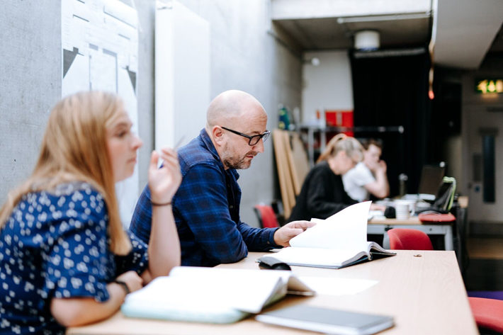 Director Mark Babych on The Beauty Queen of Leenane rehearsal