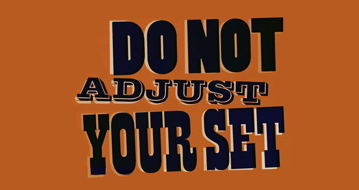 Do Not Adjust Your Set DVD Review logo main